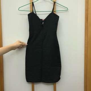 Sexy Little Black Bodycon Dress