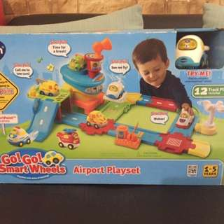 Imported Vtech gogo! Wheel airport