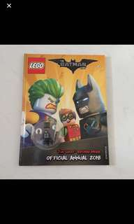 LEGO THE BATMAN MOVIE ANNUAL 2018