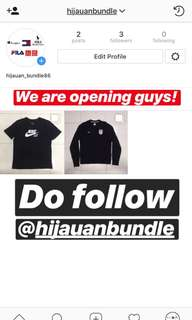 Do follow our Instagram @hijauanbundle