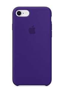 iPhone 8 / 7 矽膠保護殼 - 深紫色