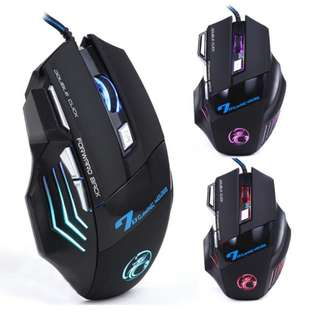 Gaming Mouse Optical Wired
