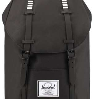 正品Herschel Retreat Backpack(黑白)