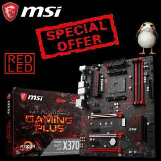 MSI X370 GAMING PLUS Motherboard. (Special Offer till Mar 2018 Ends..)