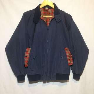 Harrington red tartan jaket