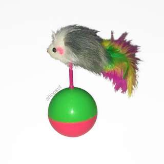 [instock] mouse on ball toy