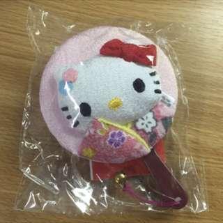 日本帶回kitty化妝鏡