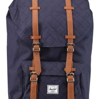 正品Herschel Little America Backpack(深藍)