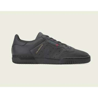 Authentic Adidas Yeezy Powerphase Calabasas Black / Gold / Red