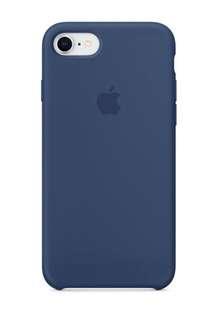 iPhone 8 / 7 矽膠保護殼 - 鈷藍色