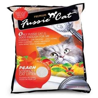 (2 for $12.00)Fussie Cat 10L (Peach)