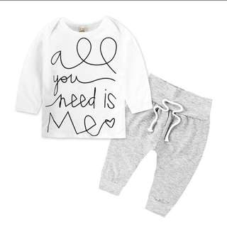 BN 3-6m Set All you need is Me
