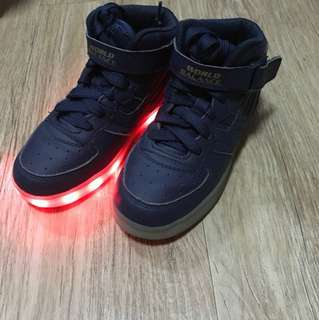 World Balance Light Up Shoes