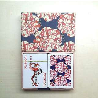 [LARGE DISCOUNT][ORIGINAL] LIMITED EDITION Liberty Art Fabrics Playing Cards Set, The Liberty Art Fabrics Stationery Collection, OUT OF PRINT, FREE SHIPPING