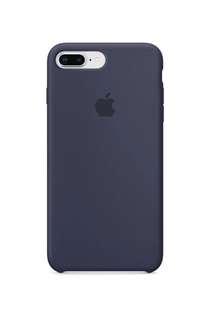 iPhone 8 plus / 7 plus 矽膠保護殼 - 午夜藍色