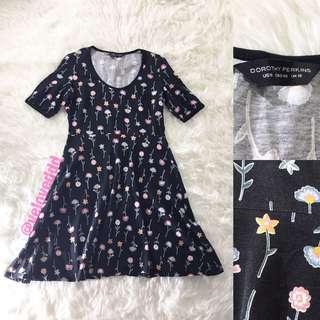 Dorothy perkins black flo dress