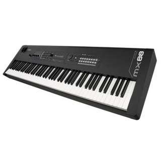 Yamaha MX88 88-Key Music Synthesizer + $32 padded bag with wheels (Last 2 sets) (limited time)