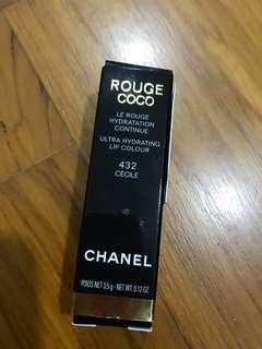 Chanel Lipstick 432 cecile