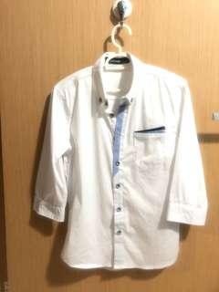 Smart causal White Shirt