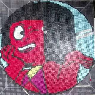 Hama beads design Steven Universe Characters Ruby