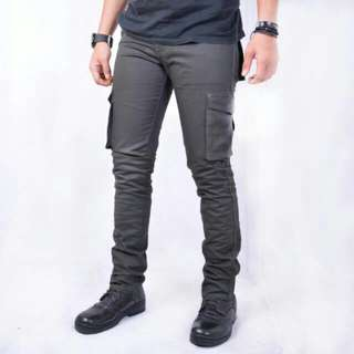Kent long cargo dark grey