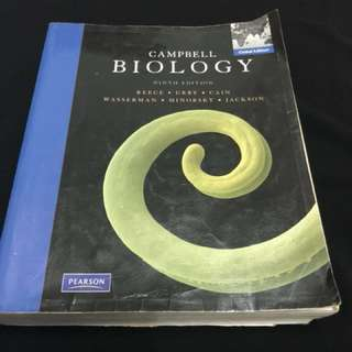 Campbell Biology Reference Book/Textbook