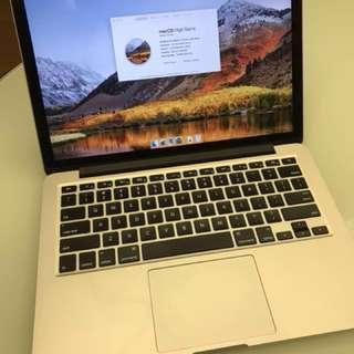 """MacBook Pro 13"""" 2013"""
