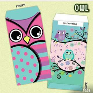 Owl Money Envelopes