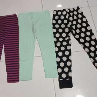 3 macam legging