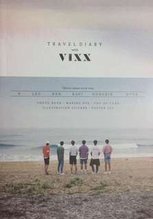 VIXX Travel Diary [LIMITED EDITION]