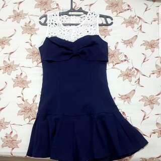 Dress Biru Import