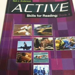 ACTIVE Skills for Reading by Neil J Anderson #出清課本#超取再七折