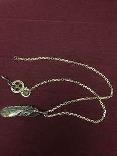 羽毛銀項鍊