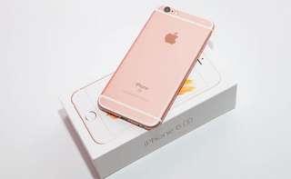 Iphone6s 64gb玫瑰金