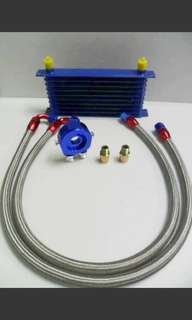 Trust oil cooler kit 10row Full set with adapter
