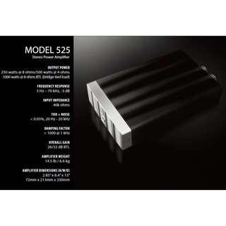 Jeff Rowland Model 525 Stereo Amplifier