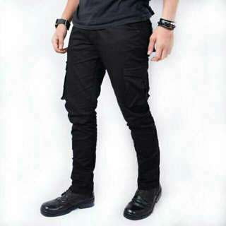 Kent long cargo black soft