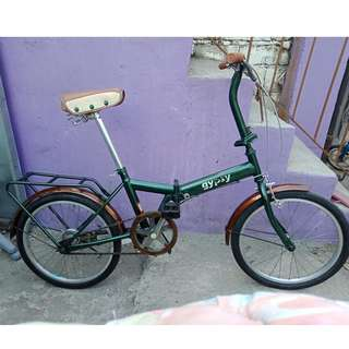 GYPSY FOLDING BIKE (FREE DELIVERY AND NEGOTIABLE!)