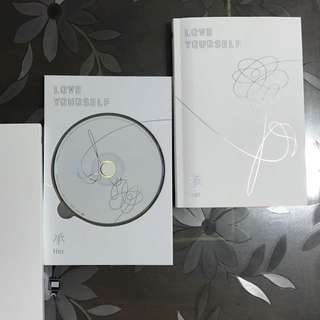 BTS LOVE YOURSELF ALBUM (O ver.)