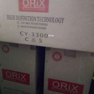 Orix Floor Stand Loud Speakers