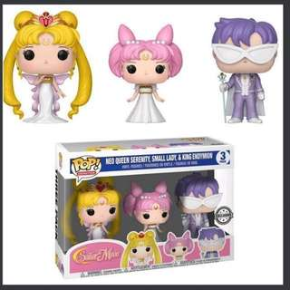 Funko Pop Sailor Moon Neo Queen Serenity and King Endymion