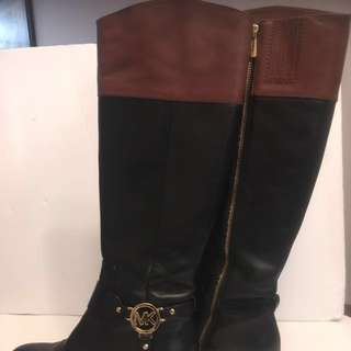 Authentic Michael Kors Leather Boots *Reduced*