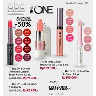 The one colour lipstik
