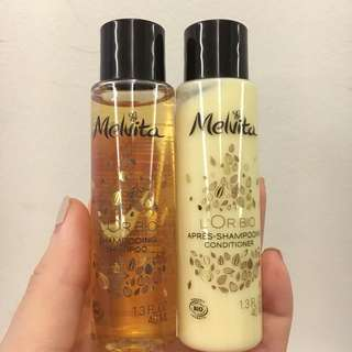 Melvita L'Or Bio Shampoo & Conditioner