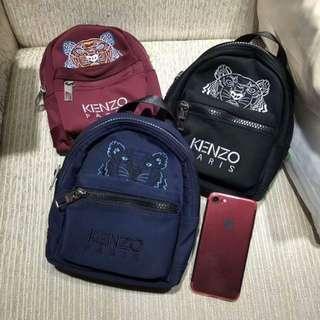 kenzo 可以斜背 ❤️小背包