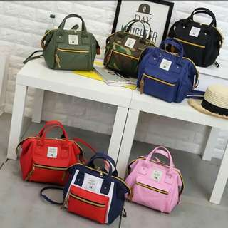 Anello 3 way mini backpack