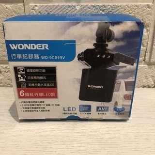 WONDER 行車記錄器 WD-9C01RV 循環錄影 日夜模式 支援32G記憶卡 紅外線LED燈 2.5吋彩色螢幕