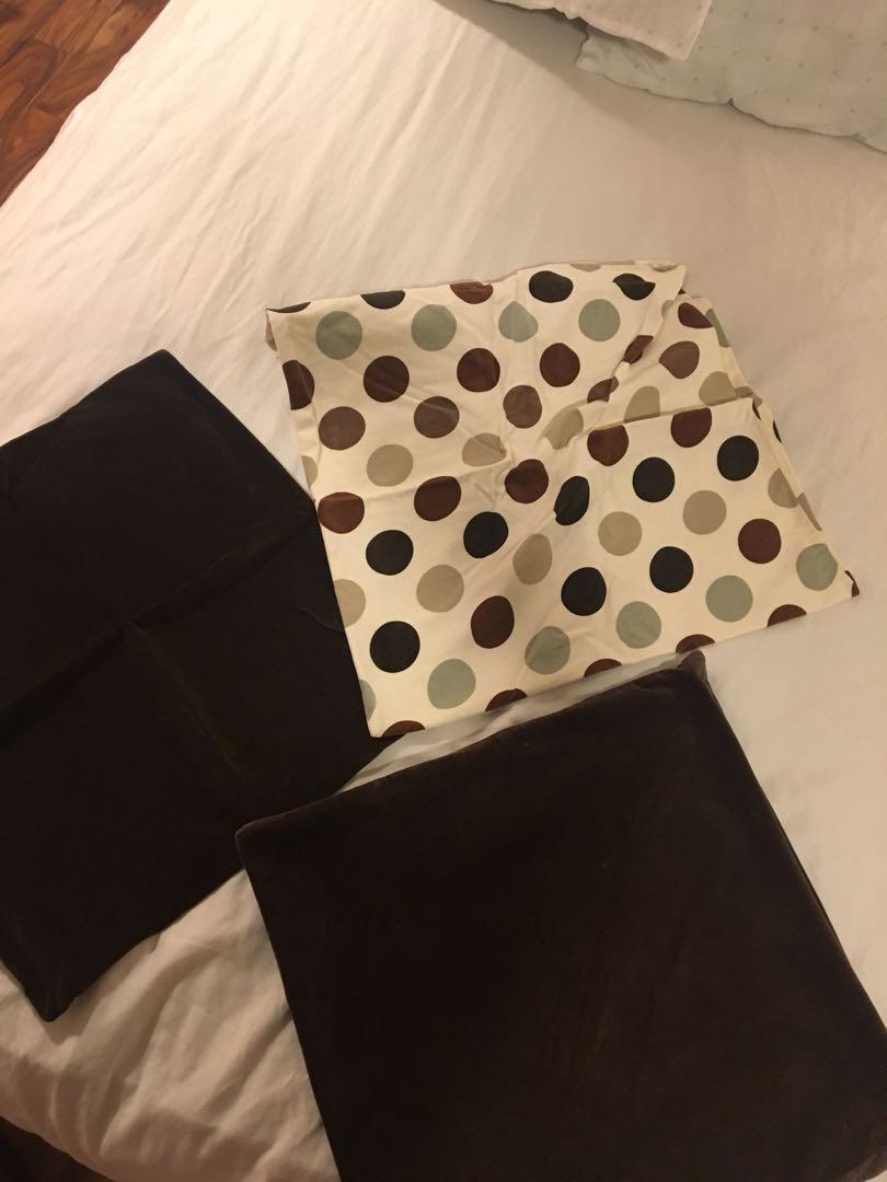 3 pillow cases