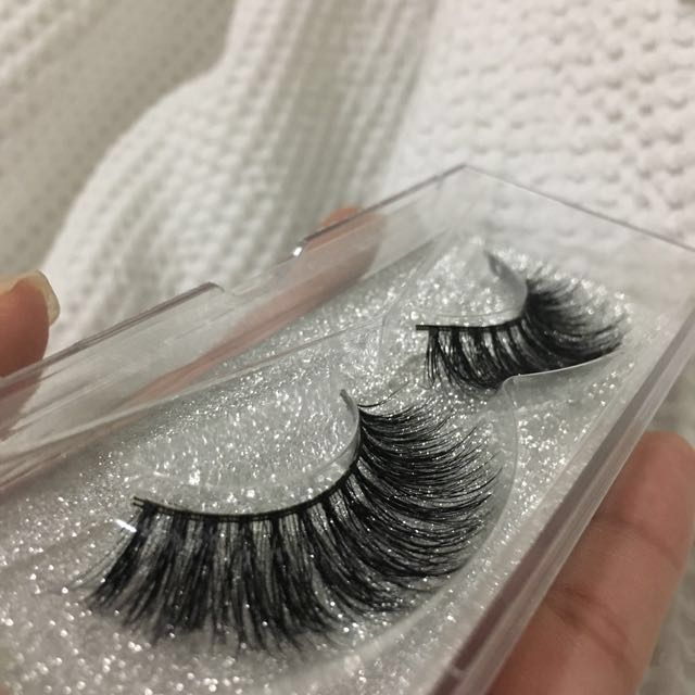 3D mink lashes natural falsies wispy lashes false lashes
