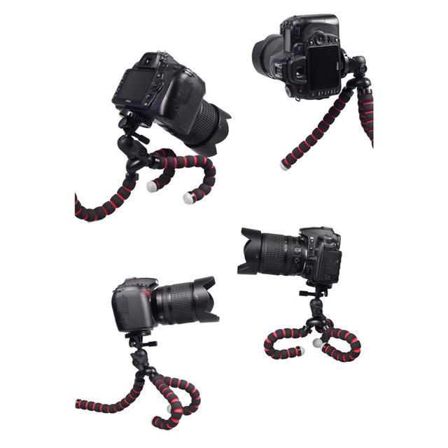 隨凹隨拍 八爪魚三腳架 百變支架 自拍支架 自拍腳架 相機腳架 相機支架『📦預購&現貨』大號